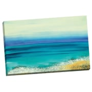 Portfolio Canvas Whispering Sea 2 Painting Print on Wrapped Canvas
