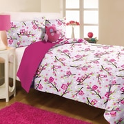 Mytex Kids' Pink Comforter Set; Twin