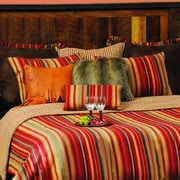 Wooded River Bandera Coverlet; Queen