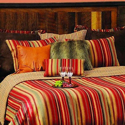 Wooded River Bandera Coverlet; Super King