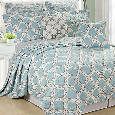 Serenta Monroe 7 Piece Coverlet Set; Queen