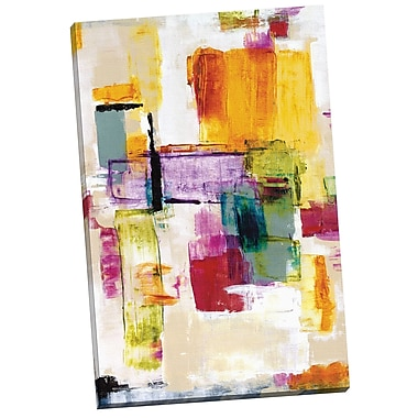Portfolio Canvas Whimsy I by Dysart Painting Print on Wrapped Canvas