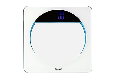 Escali Lunar Blue 400 lbs. (180 Kg) Body Scale (lbs.180)