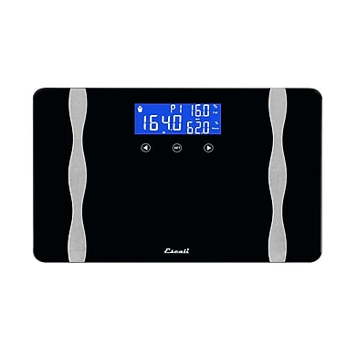 Escali 400 lbs. (180 Kg) Wide Body Composition Scale (WB180)