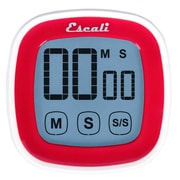 Escali  99 Min Touch Screen Digital Timer Red (DR3-R)