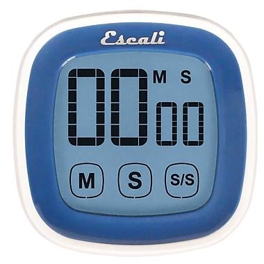Escali 99 Min Touch Screen Digital Timer Blue (DR3-U)