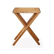 Glodea X45 End Table; Light Brown