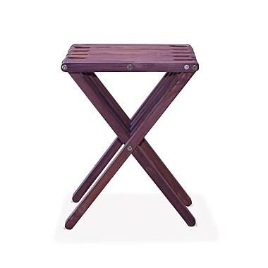 Glodea X45 End Table; Purple Berry