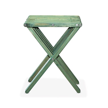 Glodea X45 End Table; Alligator Green
