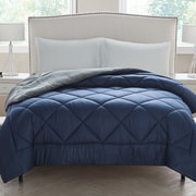 VCNY Kyle Checkerboard Reversible Comforter; Full
