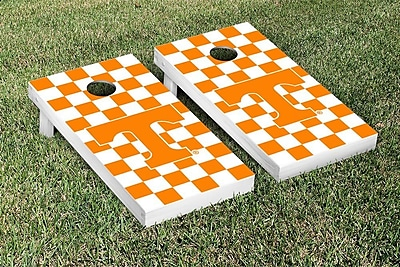 Victory Tailgate NCAA Tennessee Vols Volunteers Checkerboard Version Cornhole Game Set