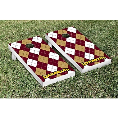 Victory Tailgate NCAA Loudmouth Merlot and Chardonnay Cornhole Game Set