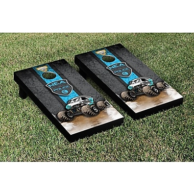 Victory Tailgate Monster Jam New Earth Authority Vintage Cornhole Game Set