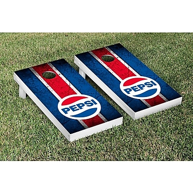 Victory Tailgate NCAA Pepsi Throwback Vintage Cornhole Game Set