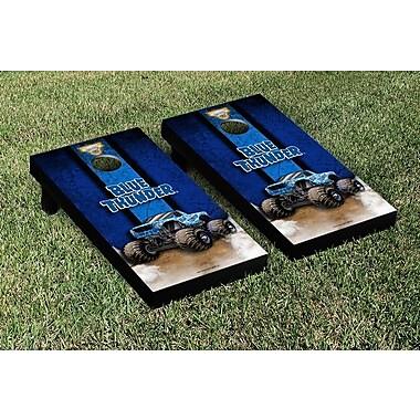 Victory Tailgate Monster Jam Blue Thunder Vintage Cornhole Game Set