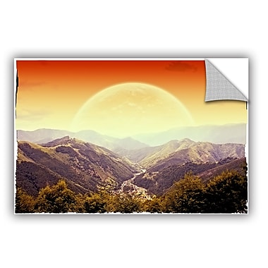 ArtWall 'Highland Sunset' by Dragos Dumitrascu Photographic Print; 24'' H x 36'' W x 0.1'' D