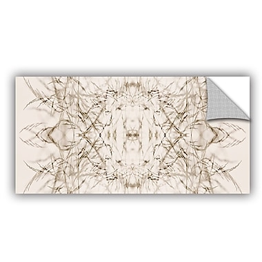 ArtWall 'Wallpaper I' by Cora Niele Graphic Art on Canvas; 24'' H x 48'' W x 0.1'' D