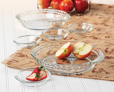 Libbey Libbey Baker's Basics 6-piece Glass Pie Set WYF078278410927