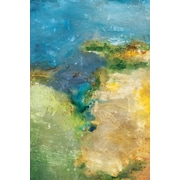 Portfolio Canvas Sunlit Sound by Carney Painting Print on Wrapped Canvas