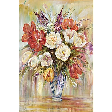 Portfolio Canvas The Chinese Vase by Carson Painting Print on Wrapped Canvas