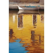 Portfolio Canvas Reflections by Alex Wang Painting Print on Wrapped Canvas