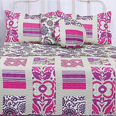 Maison Condelle Lauren Taylor Tepic Quilt Set; Full / Queen
