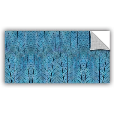 ArtWall 'Leaf Design' by Cora Niele Graphic Art Removable Wall Decal; 12'' H x 24'' W x 0.1'' D