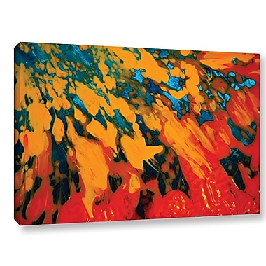 ArtWall 'Floating' by Byron May Painting Print on Wrapped Canvas; 12'' H x 18'' W