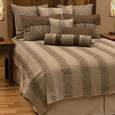 Wooded River Urban Ranch Coverlet; King
