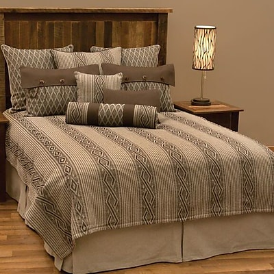 Wooded River Urban Ranch Coverlet Set; California King