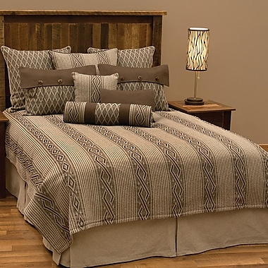 Wooded River Urban Ranch 9 Piece Deluxe Coverlet Set; Full