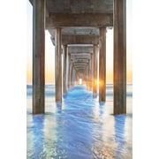 Portfolio Canvas Under the Boardwalk II by Moises Levy Photographic Print on Wrapped Canvas