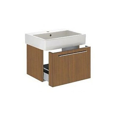 Duravit Vero 22'' Wall Mounted Vanity Base; American Walnut