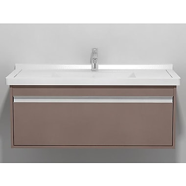 Duravit Ketho 39.38'' Single Vanity Base; Basalt Matte