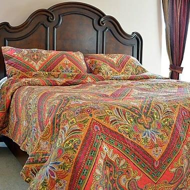 Tache Home Fashion 3 Piece Bedspread Set; California King