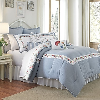 Mary Jane's Home Summer Dream 3 Piece Comforter Set; Queen