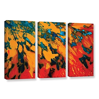 ArtWall 'Floating' by Byron May 3 Piece Painting Print on Wrapped Canvas Set