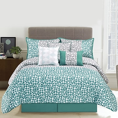 Design Studio Piccadilly 7 Piece Comforter Set; Queen