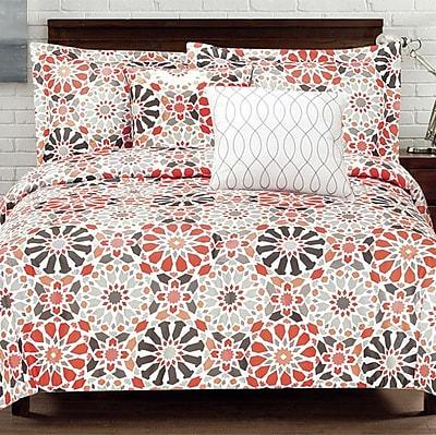 Design Studio Carson Geo 5 Piece Comforter Set; King