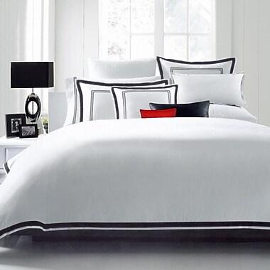 Luxe Home Collections Hotel Linen 3 Piece Duvet Set; Full/Queen