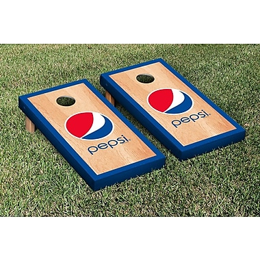 Victory Tailgate Pepsi Hardcourt Version Cornhole Game Set