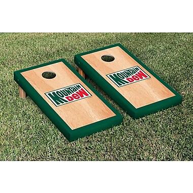 Victory Tailgate Mountain Dew Throwback Hardcourt Version Cornhole Game Set