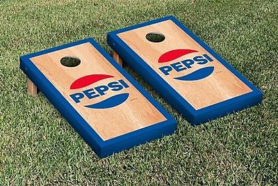 Victory Tailgate Pepsi Throwback Hardcourt Version Cornhole Game Set