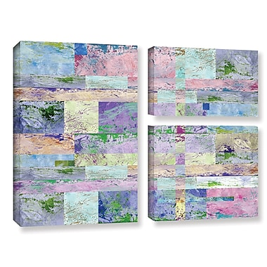 ArtWall 'Abstract I' by Greg Simanson 3 Piece Graphic Art on Wrapped Canvas Set