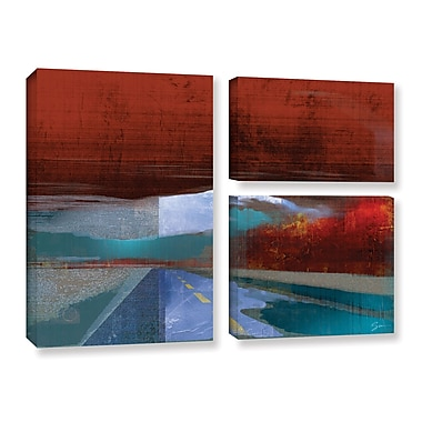 ArtWall 'Landscape I' by Greg Simanson 3 Piece Graphic Art on Wrapped Canvas Set
