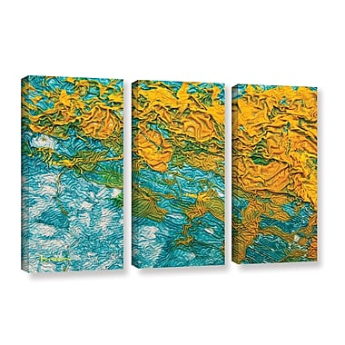 ArtWall 'Summer Breeze' by Byron May 3 Piece Graphic Art on Wrapped Canvas Set