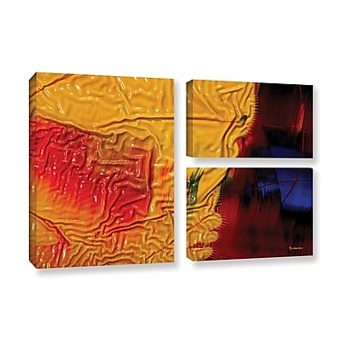ArtWall 'The Approaching Storm' by Byron May 3 Piece Graphic Art on Wrapped Canvas Set