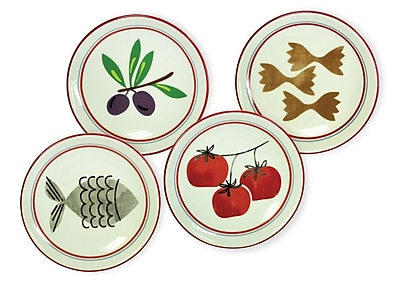Boston International Antipasto 4 Piece Dipping Dishes Set