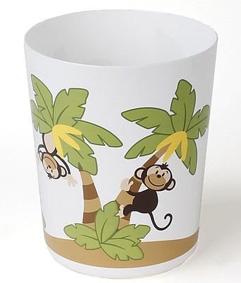 Sweet Home Collection Playful Monkeys Bath Waste