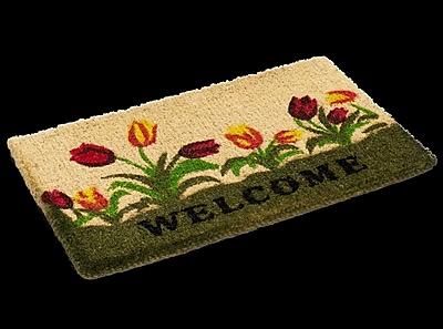 KEMPF Welcome Tulip Doormat